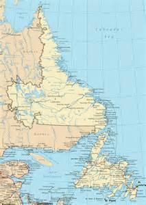 newfoundland and labrador road map