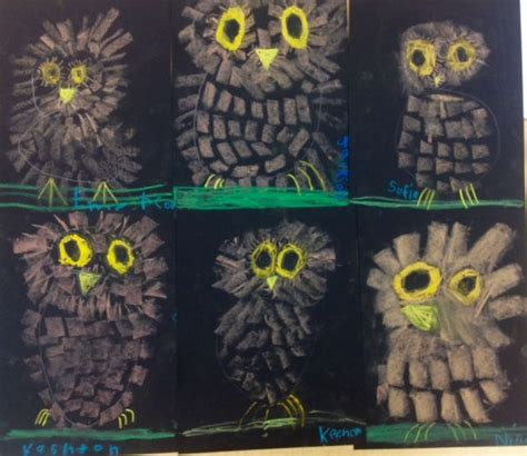 Kindergarten Lesson On Texture And Pattern Owls | 113 best images about fall art lessons on pinterest oil