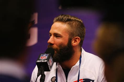julian edelman haircut julian edelman photos photos super bowl xlix media day