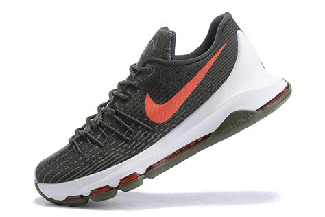 basketball shoes shop shop kd 8 basketball shoes army green white orange