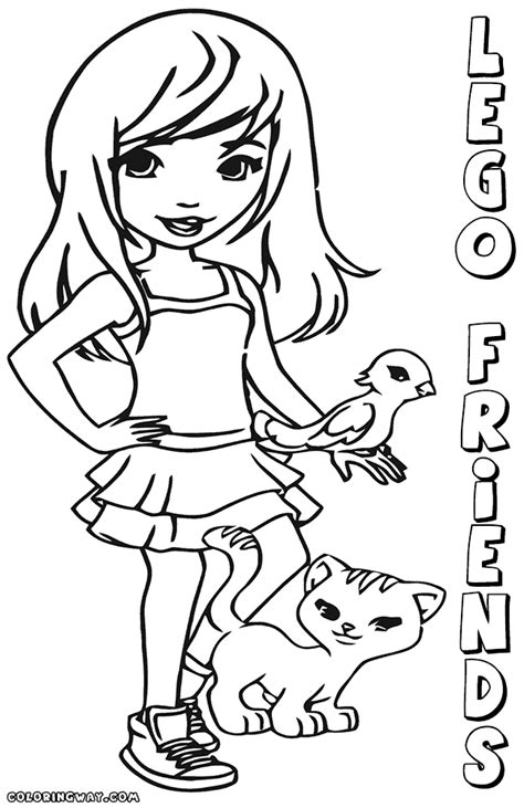 coloring pages lego friends lego friends coloring pages coloring pages to