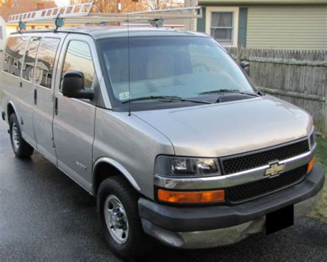 small engine repair training 2004 chevrolet express 3500 on board diagnostic system sell used 2004 chevrolet ls express van 6 0 vortec 4sp hd 128k chevy 3500 1 ton 1sb pakag in