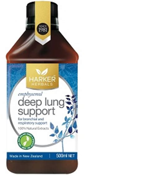Harker Herbals Detox Support by Harker Herbals Lung Support The Apothecary