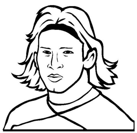 messi coloring pages coloring home