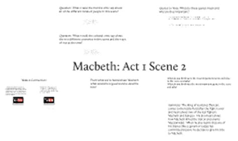 theme quotes in macbeth act 4 shakespeare s macbeth act 1 scene 2 by kelly o hara on prezi
