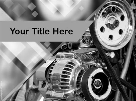 Free Industry Production Powerpoint Templates Themes Ppt Automotive Powerpoint Templates Free