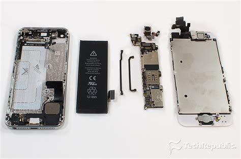 Conector Batre Iphone 5 5s 5c cracking open the apple iphone 5 techrepublic