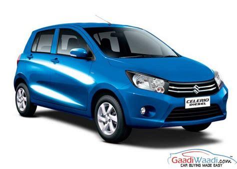 Suzuki Celerio Variants Maruti Suzuki Celerio Diesel Launched In India Priced