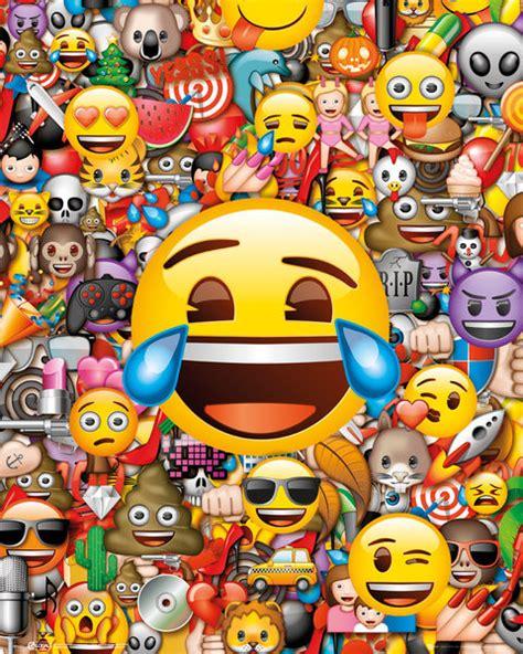 emoji film posters bestel de emoji collage poster op europosters nl