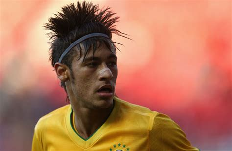 what is neymar hair style name neymar hairstyle 2013