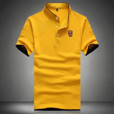 Dress Casual Polo Shirt 2015 new summer collar polo shirt clothing solid mens polo shirts business casual