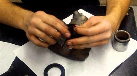 how to o how to rebuild brake calipers youtube