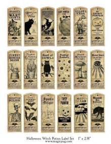 vintage style halloween printables labels amp tags the