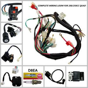 Kabel Gas Yamaha V80 By Goods electrics wiring loom for 150 200 250 300cc atomik