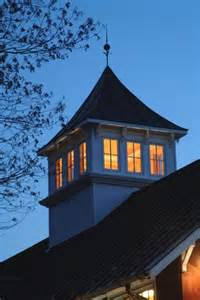 Small Cupola 1 Story Building Converted To 2 Story Barn For