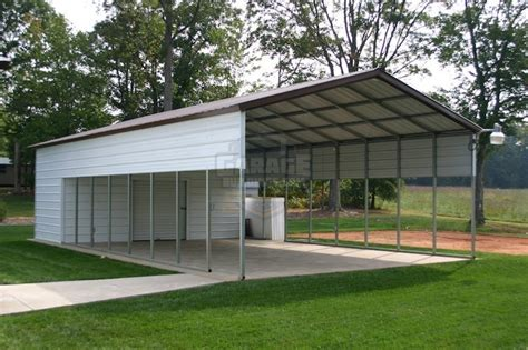 carport metal buildings carport and garage combo units garage buildings