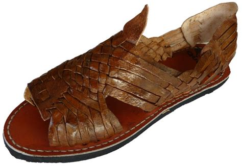 mexican huarache sandals quebaja s huarache sandals brown rustic