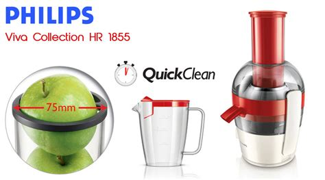 Juicer Philips Hr 1851 philips hr 1855 juicer review apple melon juice with