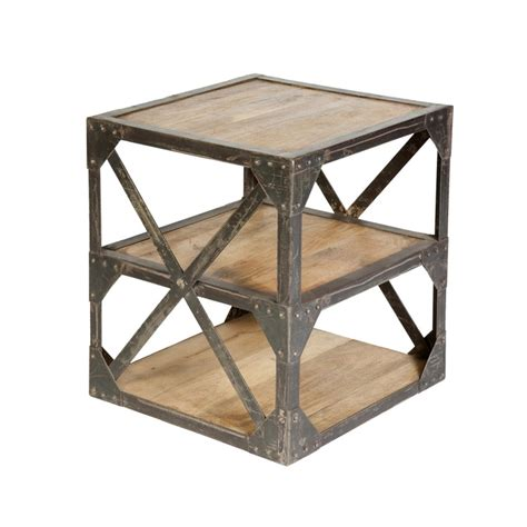 Industrial Side Table Discover And Save Creative Ideas
