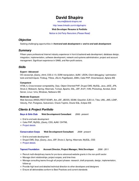 resume objectives exles image collections cv