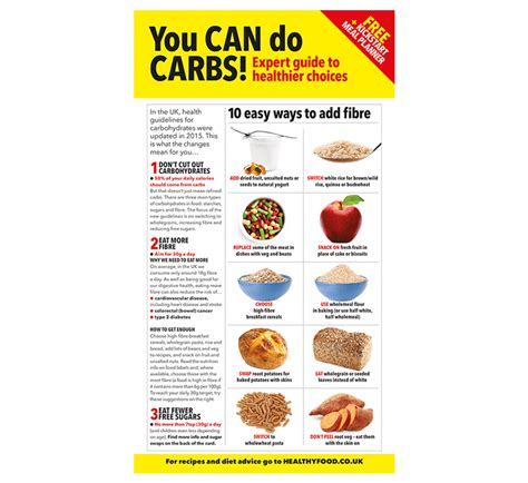 carbohydrates uk healthy carbohydrates guide healthy food guide