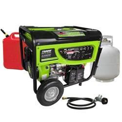 smarter tools gp7500deb 6 200 watt propane lpg or gas
