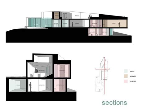 section studio 16 best images about mobius house on pinterest house