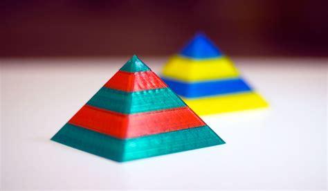 Piramid Printing mosaic manufacturing multi color 3dp 3d printing industry