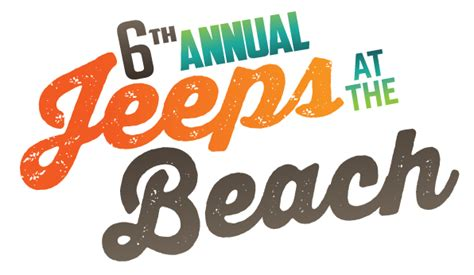 jeep beach logo jeep lovers unite sylvan verona beach tourism
