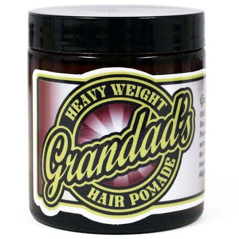 Pomade Grandads grandad s fashioned heavy weight all handmade