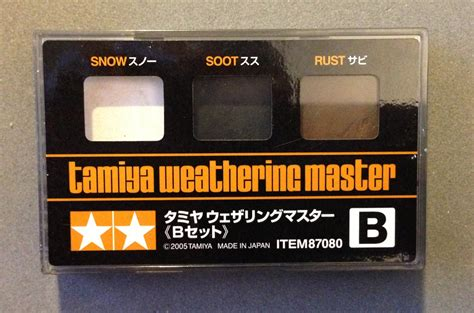 motorised dandruff tamiya weathering master enter the