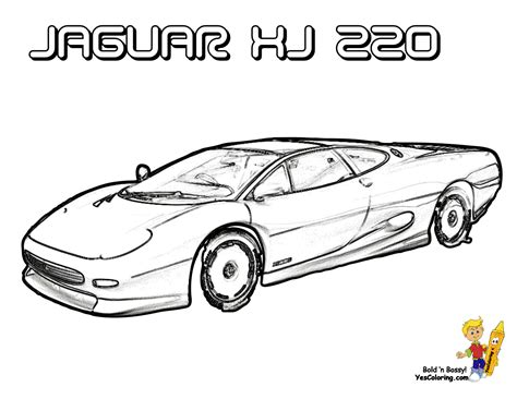 jaguar cars coloring pages jaguar car clipart 17
