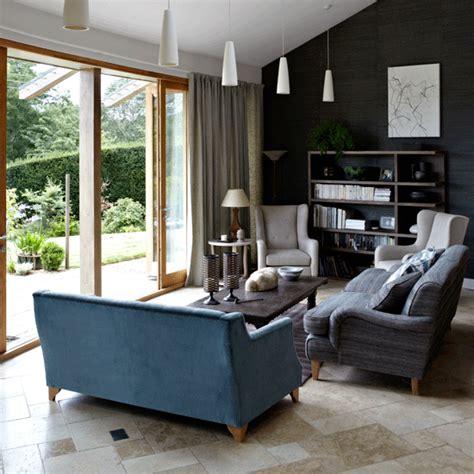 living room with garden garden view living room open plan living room ideas to inspire you housetohome co uk