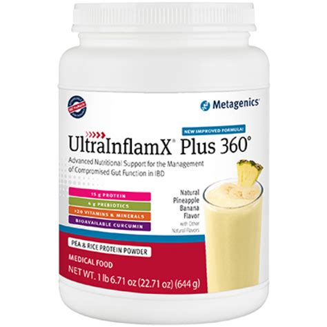 Metagenics 6 Week Detox Review by Metagenics Ultrainflamx Plus 360 Pineapple Banana 22 71