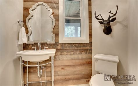 farmhouse powder room 7 rooms with farmhouse style gonyea homes remodeling