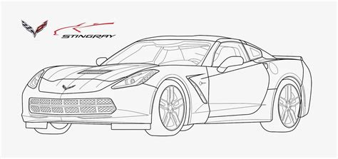 c5 corvette coloring pages