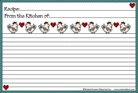 mesa s place full page recipe templates free printables 83 best recipe card images on pinterest printable recipe