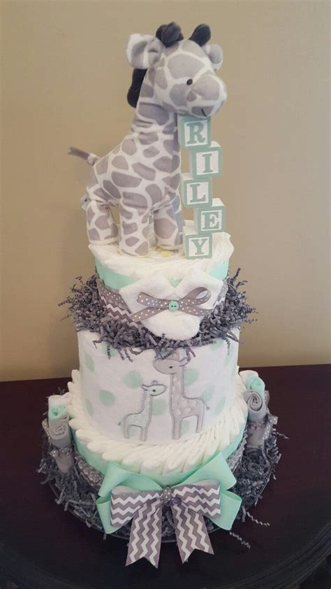 baby shower diaper cakes for boys girls babiesrus baby giraffe baby shower centerpieces shower