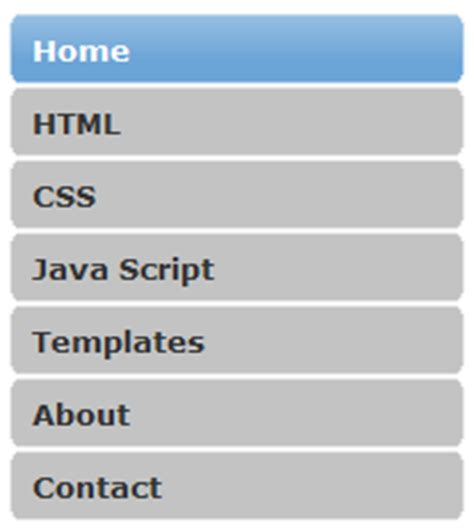 html vertical menu bar template css vertical menu tutorials menu 14 tips and tricks