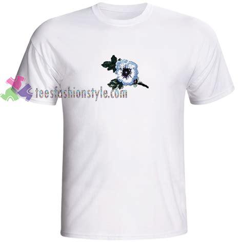 Blue Flower T Shirt blue flower tshirt gift unisex custom clothing size