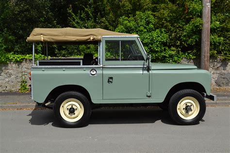 land rover green land rover series 3 88 quot 1980 pastel green top
