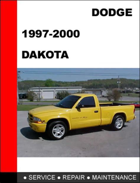 dodge dakota 1997 2000 workshop service repair manual download ma