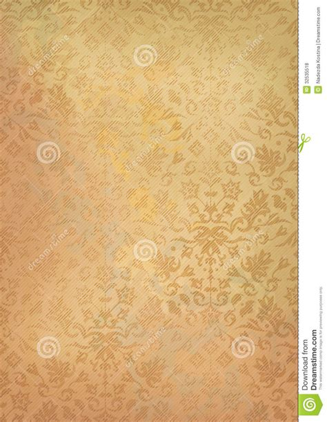 old paper pattern vector vintage grunge old paper background with pattern royalty