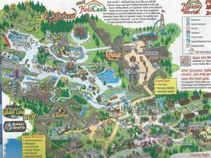 Christmas World Map by Holiday World Amusement Park Map Images