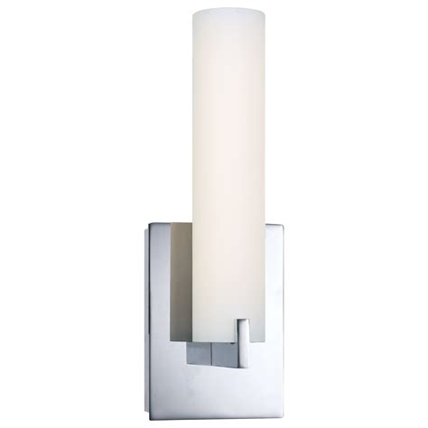 wall sconces bathroom tube led vanity wall sconce by george kovacs p5040 077 l