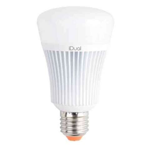 idual 60w equivalent warm to cool white a type e26 led