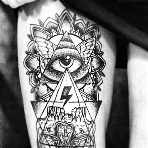 tattoo mandala illuminati illuminati eye tattoo images designs