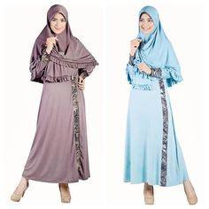 Pakaian Muslim Pria Bahan Porto Warna Blue fashion korea busana muslim supplier pakaian pria