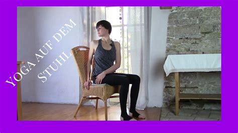 dem stuhl auf dem stuhl