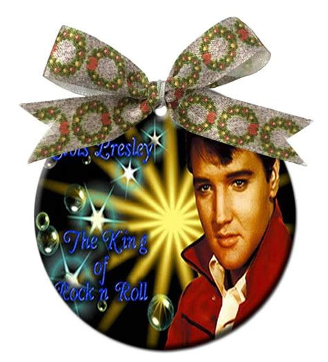 elvis christmas ornaments my blog